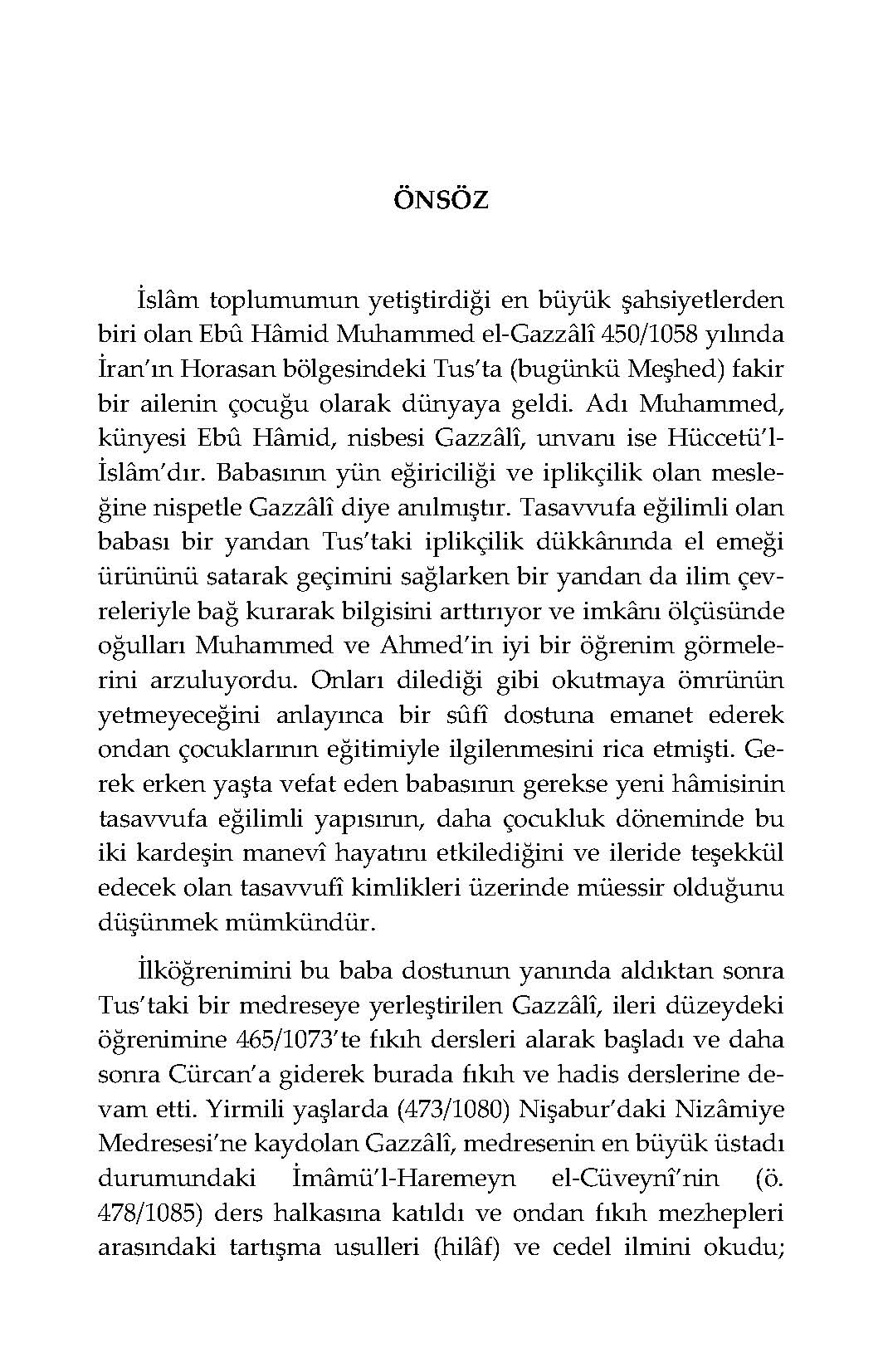 Hakikat Arayışı el-Münkız Mine'd-Dalâl (Türkçe=Arapça) Karşılıklı