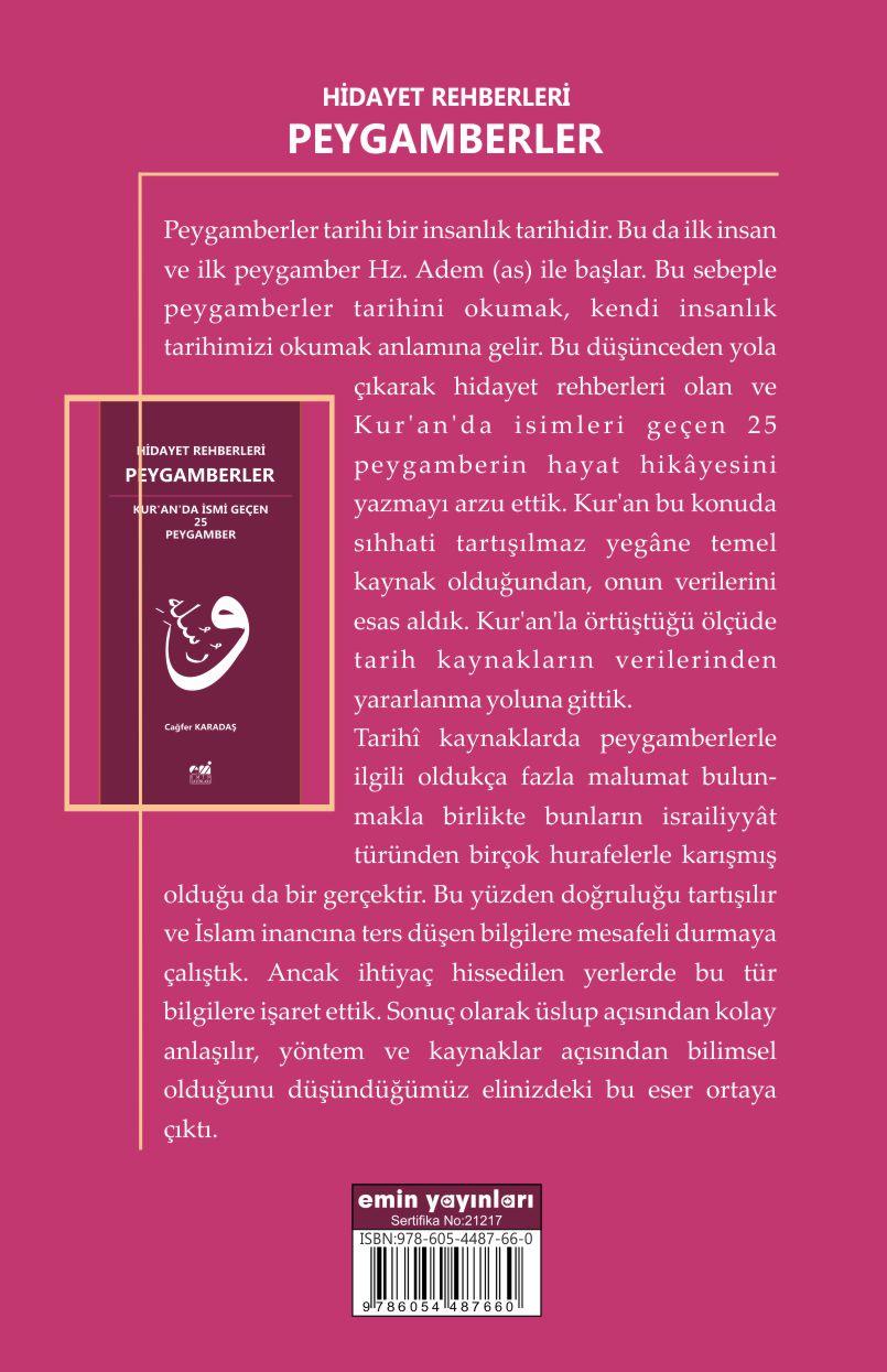 Hidayet Rehberleri Peygamberler Kur'an'da İsmi Geçen 25 Peygamber