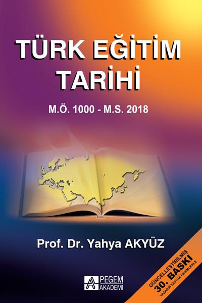 Türk Eğitim Tarihi  M.Ö. 1000 M.S. 2016