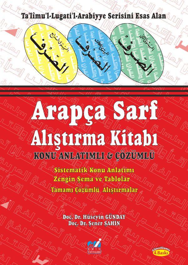 Arapça Sarf Alıştırma Kitabı+ Cevap Anahtarı kitabı; Konu Anlatımlı - Çözümlü