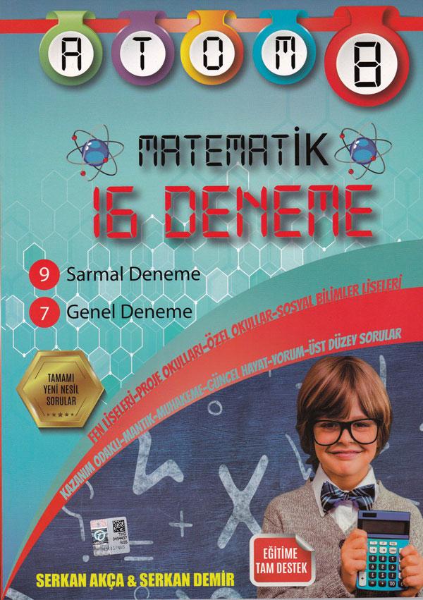 8. sınıf Matematik 16 Deneme 2019