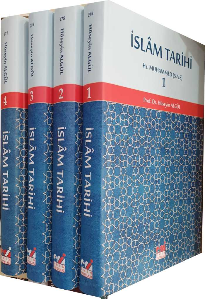 İslam Tarihi (4 Cilt Takım) Sıvama Cilt